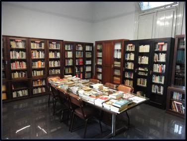 Biblioteca del CMSN - 2da. Sala de Consulta