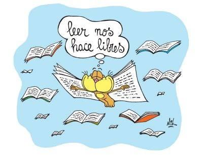 Volar leyendo