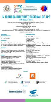 IV JORNADA INTERINSTITUCIONAL DE APS - 2015