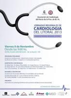 JORNADAS REGIONALES DE CARDIOLOGIA DEL LITORAL 2013