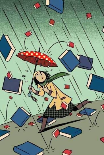 Lluvia de libros