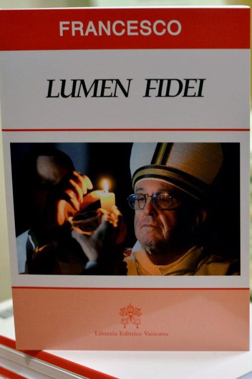 Enciclica Lumen Fidei - Imagen y Texto