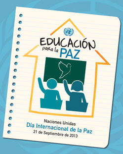 ONU - Dia internacional de la paz - Libro